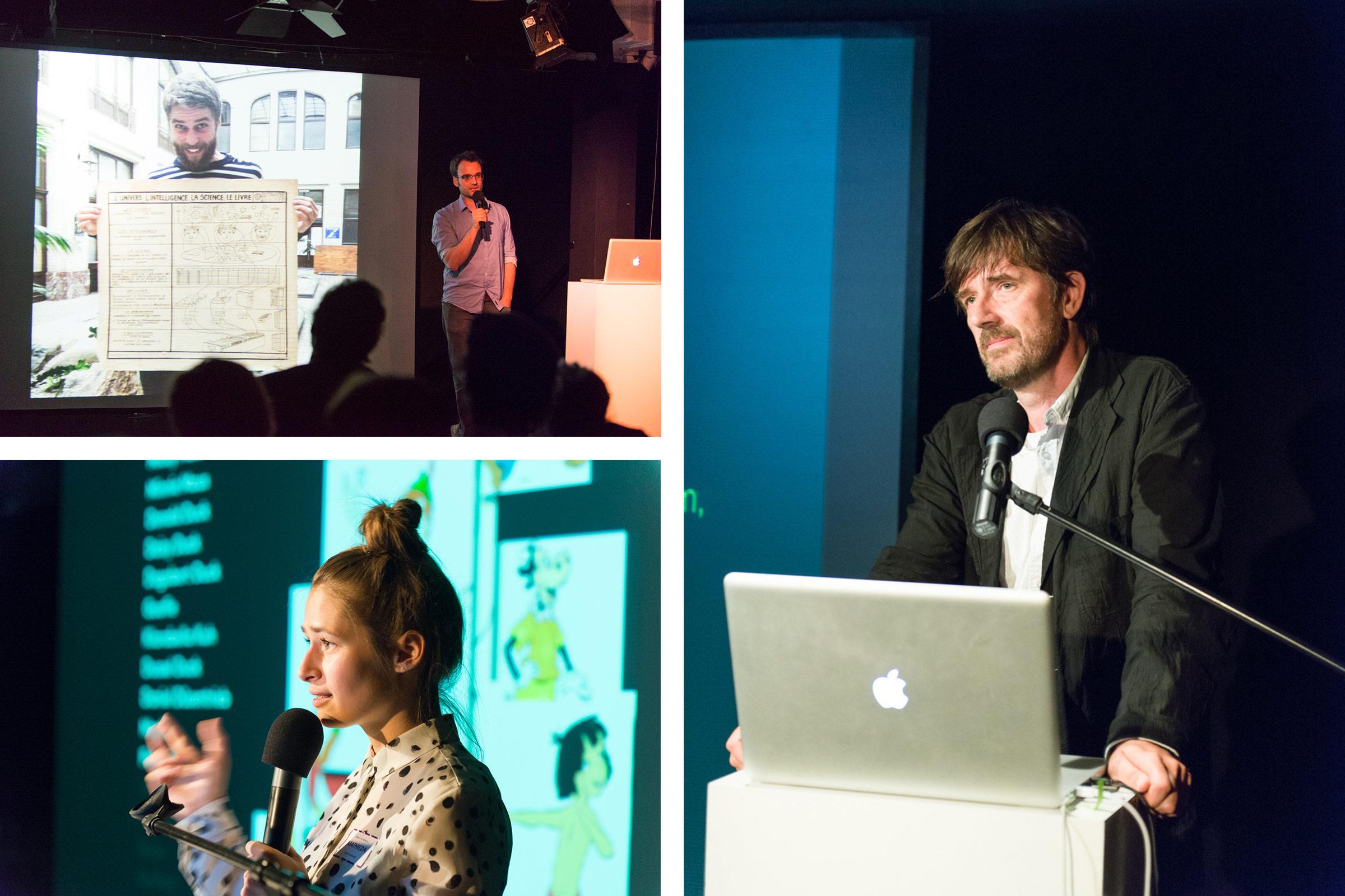 Astrom Zimmer, Peter Zizka, Mathilda Mutant © Christian Weber – Büro für Gestaltung und Kommunikation