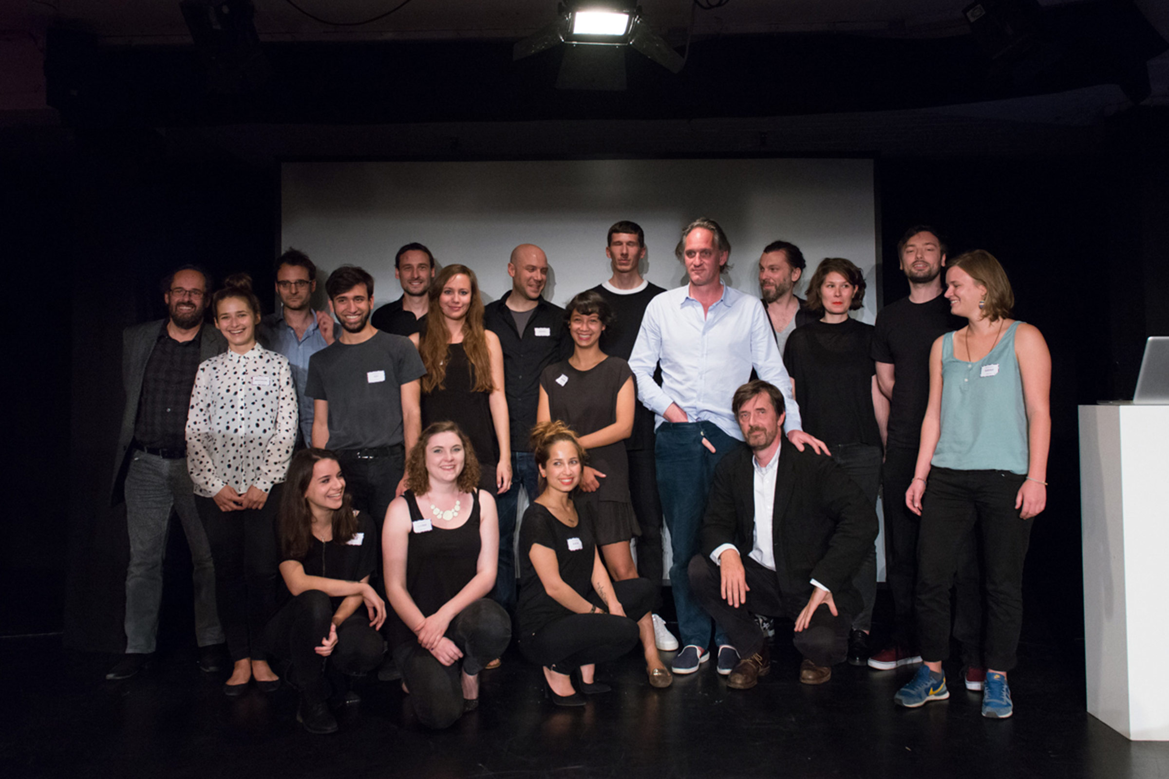 ABOUT Lectures 2015 – Sprecher und Team © Christian Weber – Büro für Gestaltung und Kommunikation