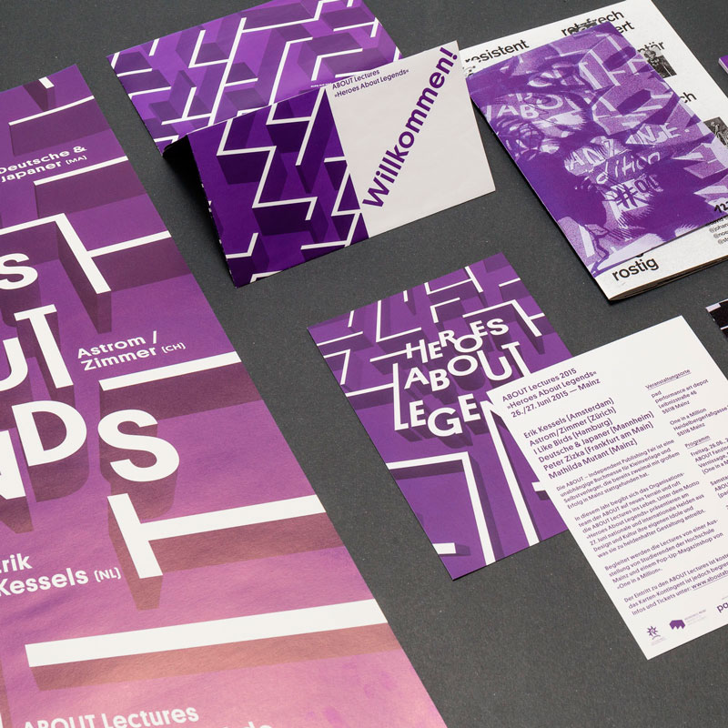 Corporate Design der ABOUT – Independent Publishing Fair Mainz How About Making 2016 © Christian Weber – Büro für Gestaltung und Kommunikation
