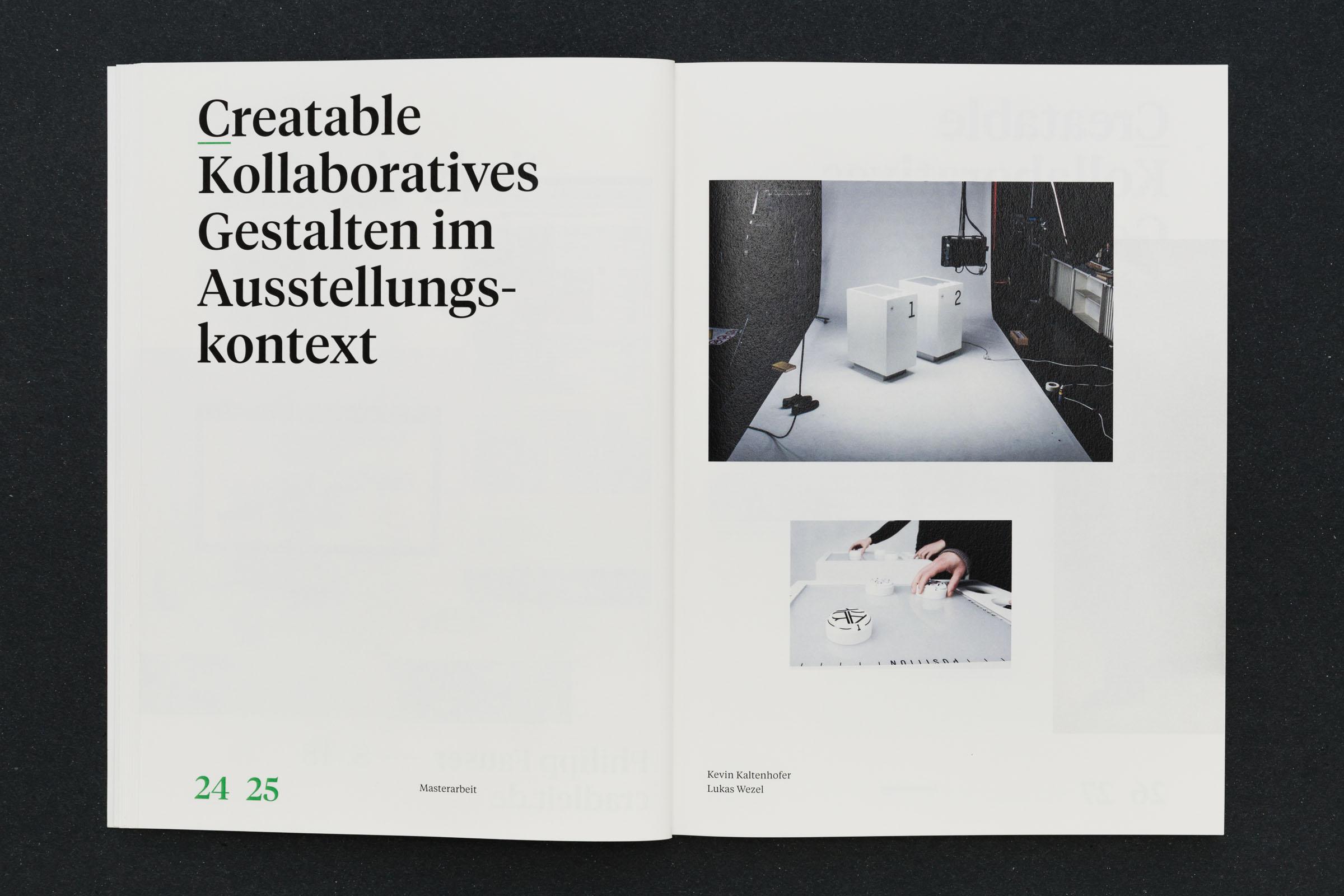 Aufmacherseite mit großer Typografie und Bild Werkbericht – Design for Participation © Christian Weber – Büro für Gestaltung und Kommunikation