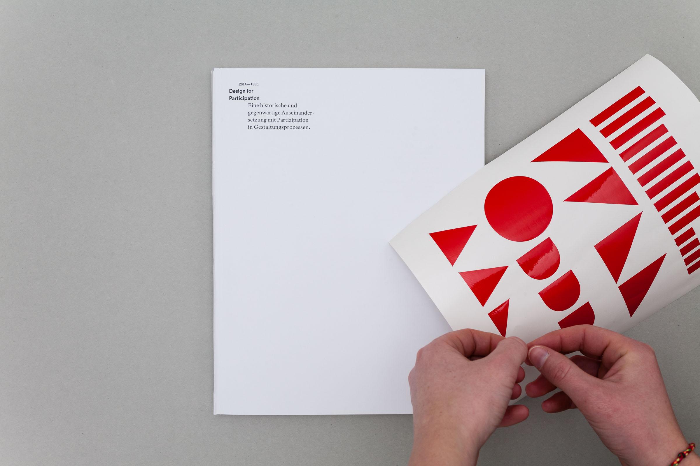 Design for Participation Buchgestaltung Konzept für ein partizipatives Cover © Christian Weber – Büro für Gestaltung und Kommunikation