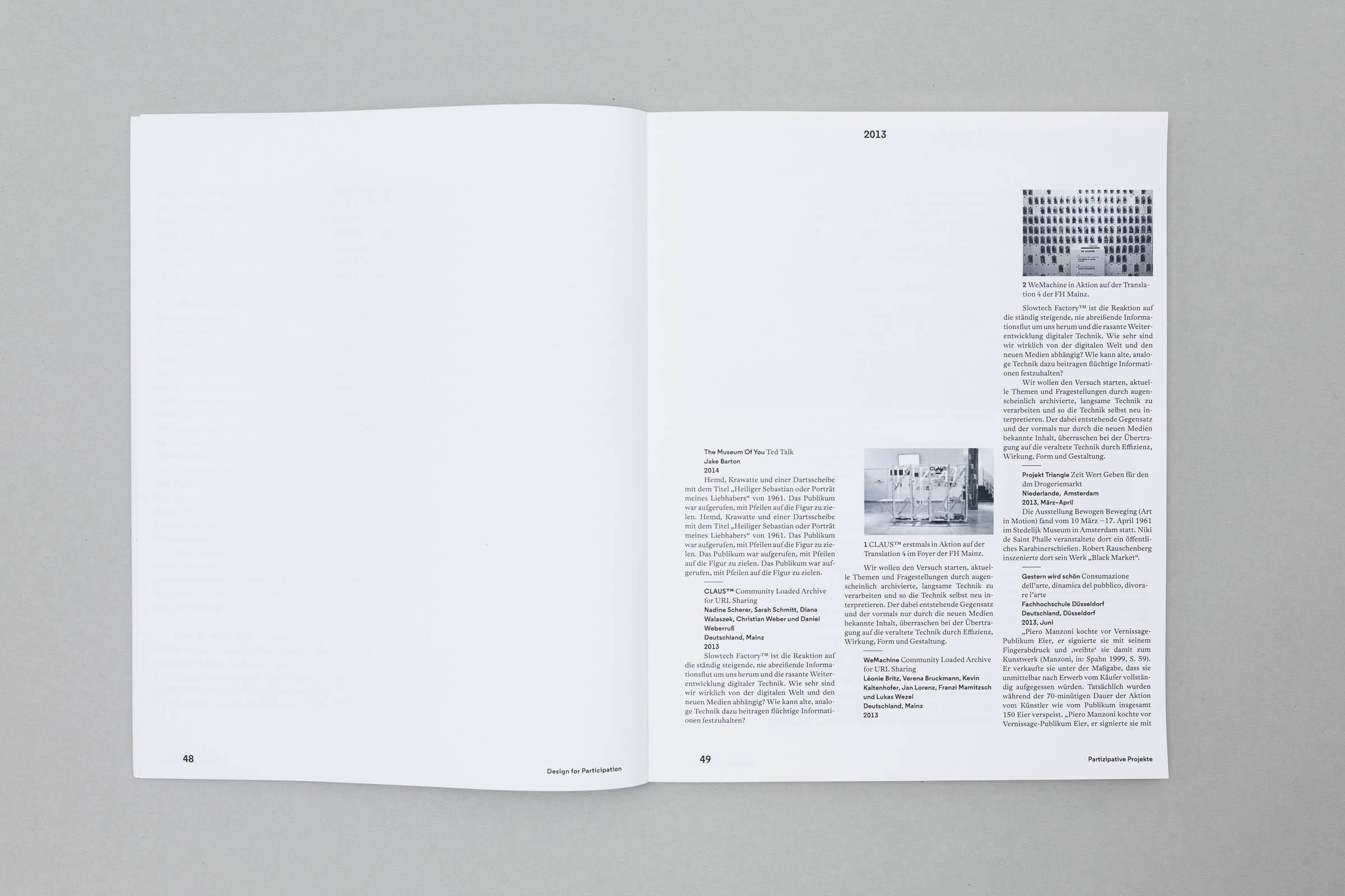Design for Participation Buchgestaltung Lexikalischer Teil Dreispaltig © Christian Weber – Büro für Gestaltung und Kommunikation