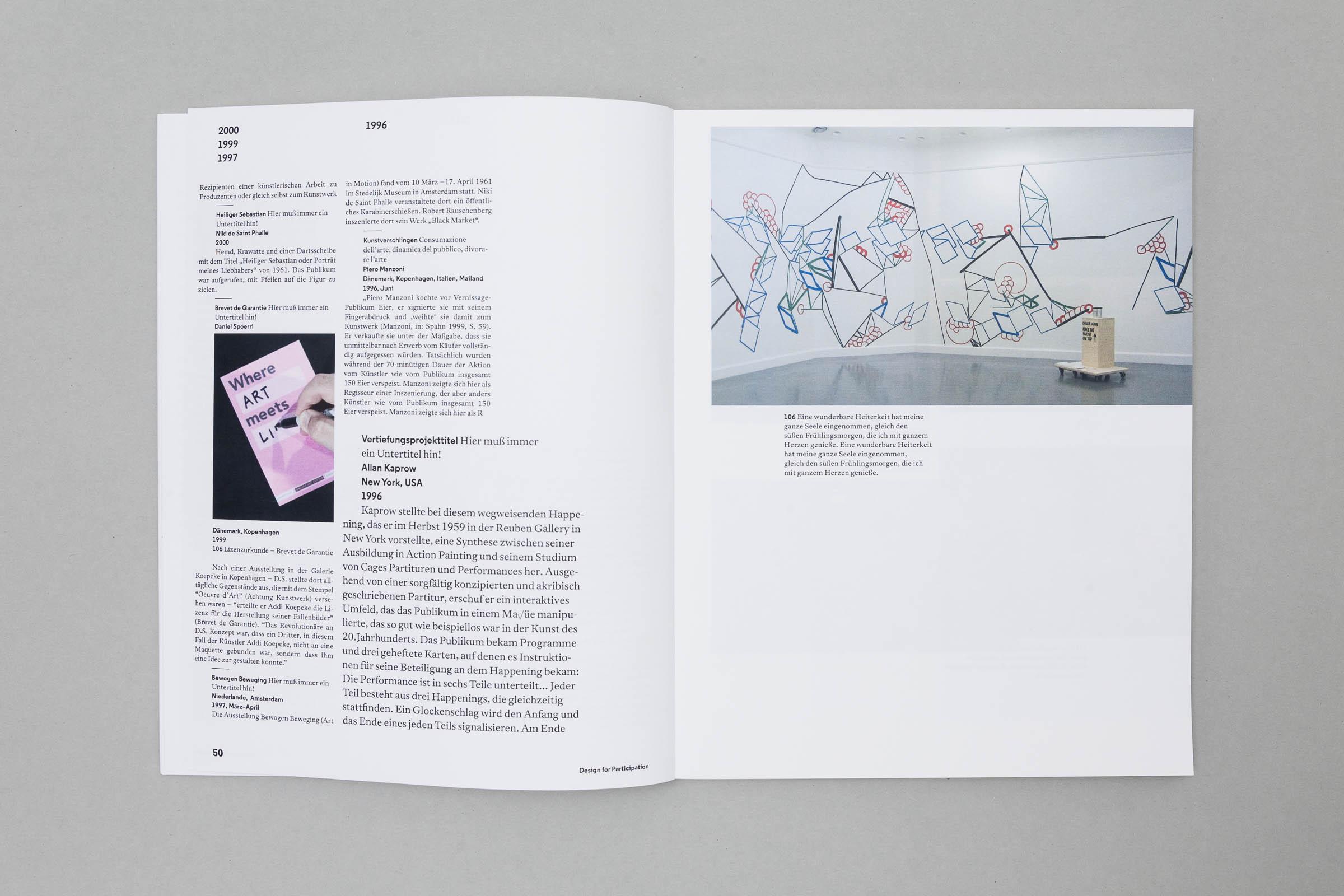 Design for Participation Buchgestaltung Bildtafeln auf Bilderdruckpapier © Christian Weber – Büro für Gestaltung und Kommunikation