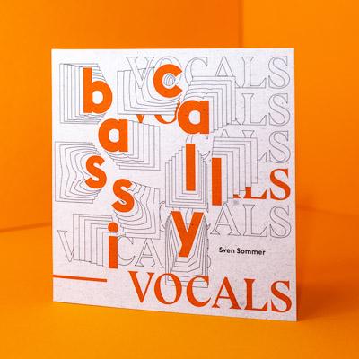 Grafikdesign für CD-Cover für Sven Sommer © Christian Weber – Büro für Gestaltung und Kommunikation